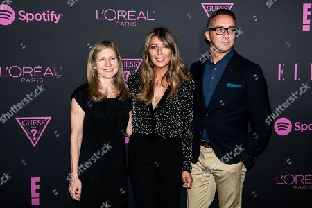 Stock Photo of Frances Berwick, Nina Garcia, Adam Stotsky
