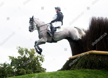 Stock Photo of Oliver Townend riding Ballaghmor Class