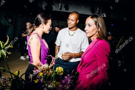 Editorial image of Elle Women in Music, Inside, New York Fashion Week, The Shed, The Bloomberg Building, New York, USA - 05 Sep 2019