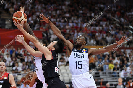 Editorial image of USA v Japan, FIBA Basketball World Cup China, Shanghai, Japan - 05 Sep 2019