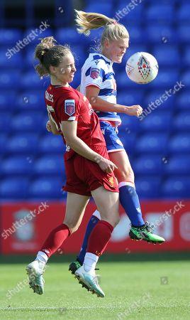 Editorial photo of Liverpool Women v Reading Women, Barclays FA Women's Super League, Football, Prenton Park, UK - 08 Sep 2019