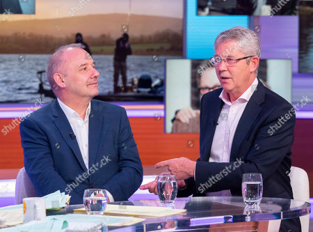 Stock Picture of Bob Mortimer and Christopher Young