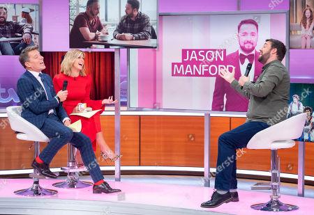 Ben Shephard and Kate Garraway with Jason Manford