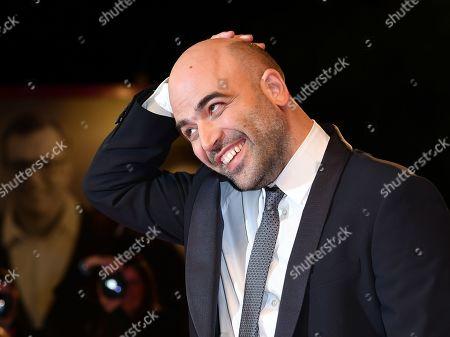 The writer and journalist Roberto Saviano