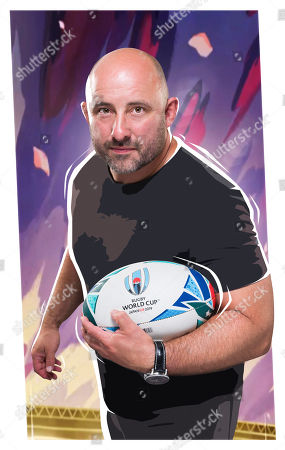 Editorial image of 'Rugby World Cup Live' TV Show UK  - 2019