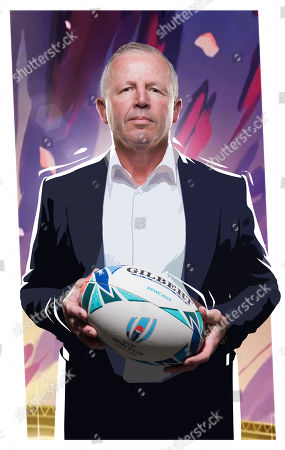 Editorial picture of 'Rugby World Cup Live' TV Show UK  - 2019