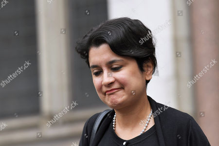 Shami Chakrabarti leaves the The High Court in central London after Gina Miller failed in her legal action over the government's decision to suspend Parliament.  The case will get a hearing at the Supreme Court.