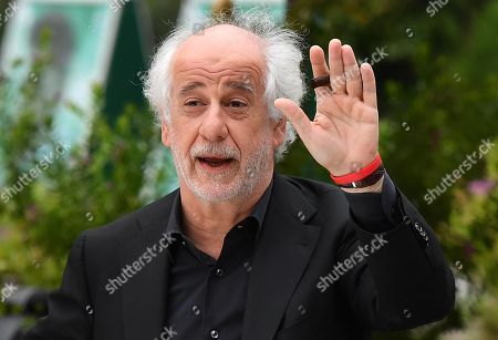 Stock Picture of Toni Servillo leaves the Lido Beach for the 76th annual Venice International Film Festival, in Venice, Italy, 06 September 2019.The festival runs from 28 August to 07 September.