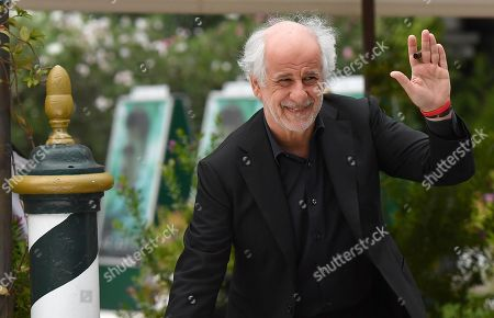 Toni Servillo leaves the Lido Beach for the 76th annual Venice International Film Festival, in Venice, Italy, 06 September 2019.The festival runs from 28 August to 07 September.