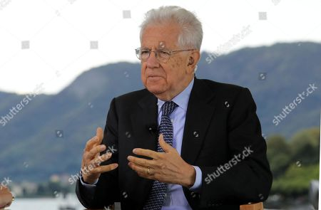 Former Italian Premier Mario Monti attends the Forum The European House - Ambrosetti, in Cernobbio, northern Italy, 06 September 2019.