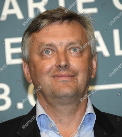 Stock Picture of Sergei Loznitsa poses at a photocall for 'State funeral' during the 76th annual Venice International Film Festival, in Venice, Italy, 06 September 2019. The movie is presented out of competition at the festival running from 28 August to 07 September.