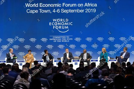 Editorial photo of World Economic Forum on Africa, Cape Town, South Africa - 06 Sep 2019