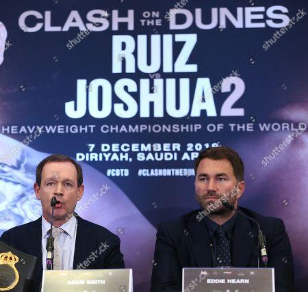 Editorial image of Andy Ruiz Jr vs  Anthony Joshua 2  Press Conference, Hilton London Syon Park, London, UK - 6 Sep 2019