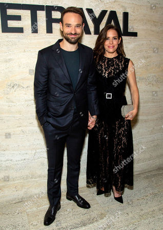 Stock Picture of Charlie Cox and Samantha Thomas