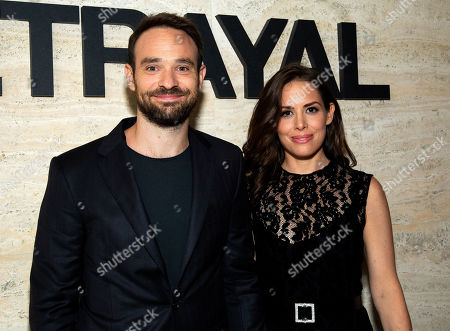 Stock Image of Charlie Cox and Samantha Thomas