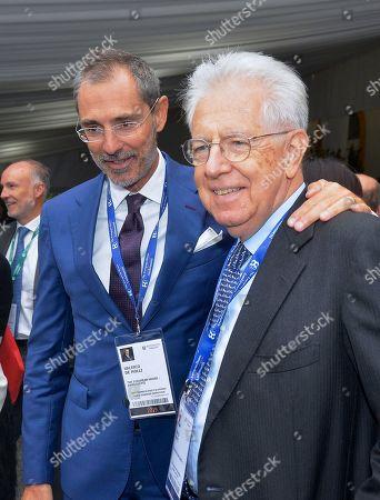 Valerio de Molli and Mario Monti