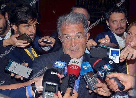 Romano Prodi during the forum
