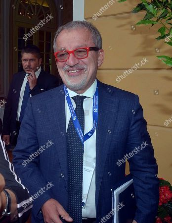 Roberto Maroni during the forum
