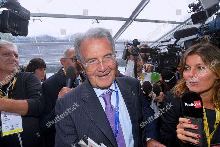 Stock Image of Romano Prodi