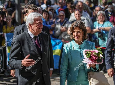 Editorial image of Queen Silvia of Sweeden visits Wiesbaden, Germany - 06 Sep 2019