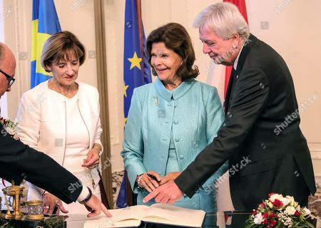 Editorial photo of Queen Silvia of Sweeden visits Wiesbaden, Germany - 06 Sep 2019