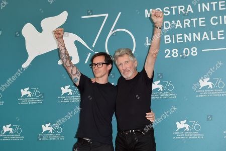 Sean Evans and Roger Waters
