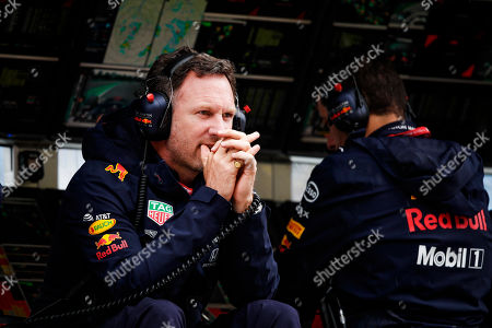 Motorsports: FIA Formula One World Championship 2019, Grand Prix of Italy,  Christian Horner (GBR, Aston Martin Red Bull Racing),