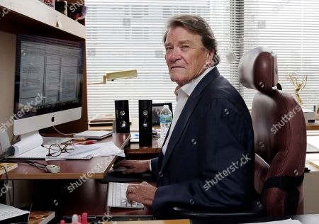 """60 Minutes"""" correspondent Steve Kroft in his office in New York. CBS says Kroft, 73, will retire from the news magazine at Sunday's season finale"""