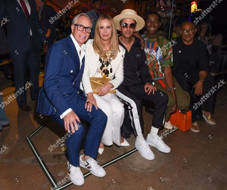 Tommy Hilfiger with Dee Ocleppo, DJ Cassidy and Miss Jay Alexander