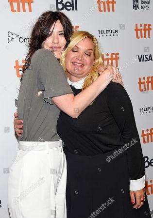 Rebecca Thomas and Michelle Purple