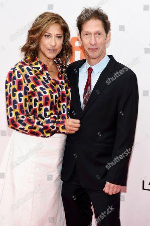 Stock Photo of Lisa Benavides and Tim Blake Nelson