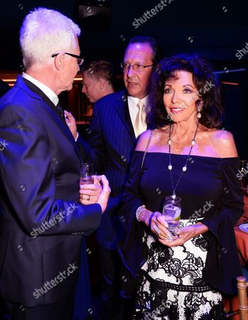 Paul O'Grady, Percy Gibson and Dame Joan Collins