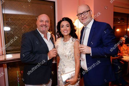 Guest, Michael Harrison and Kathryn Harrison