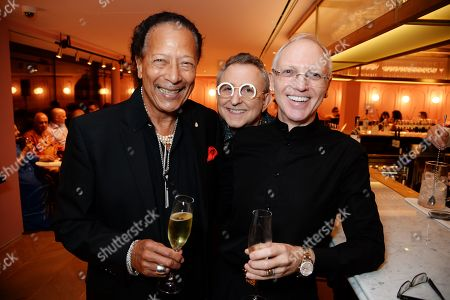 Peter Straker, Thomas Schumacher and James Thompson