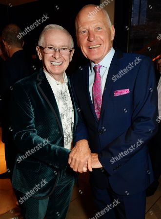 John Reid and Lord Michael Cashman