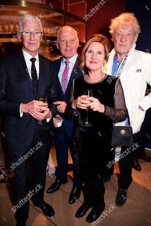 Paul O'Grady, Lord Michael Cashman, Guest and Sir Ian McKellen