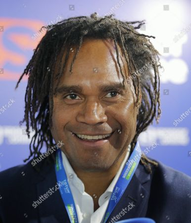 Stock Picture of Former French soccer player Christian Karembeu attends the Soccerex Europe conference in Lisbon, Portugal, 06 September 2019. The Soccerex Lisbon 2019, which runs from 05 to 06 September, aims to gather over 1,500 people from over 56 countries to discuss topics of current events in the industry of soccer around the world.