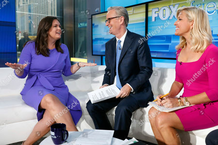 Editorial photo of Fox & Friends Sarah Huckabee Sanders, New York, USA - 06 Sep 2019
