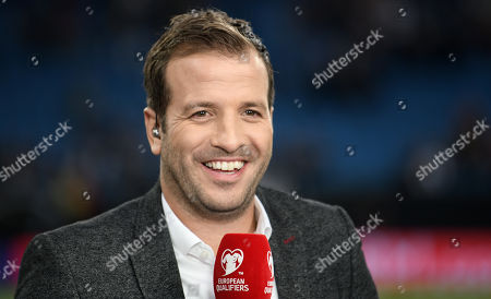 Former Dutch soccer player Rafael van der Vaart before the UEFA EURO 2020 qualifiers group C soccer match between Germany and the Netherlands in Hamburg, Germany, 06 September 2019.