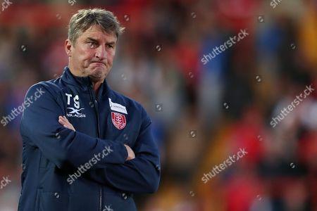 Tony Smith coach of Hull Kingston Rovers'