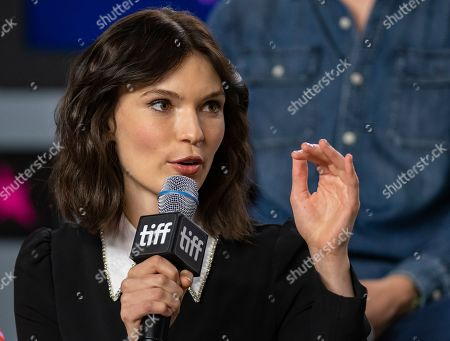 Tilda Cobham-Hervey attends the press conference for the movie 'I Am Woman' during the 44th annual Toronto International Film Festival (TIFF), in Toronto, Canada, 06 September 2019. The festival runs from 05 to 15 September.