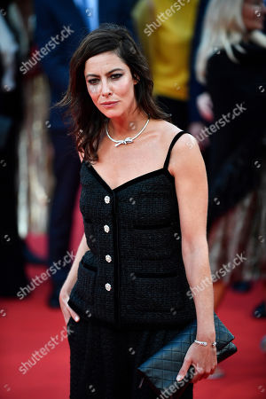 Anna Mouglalis arrives on the red carpet prior to the opening ceremony during the 45th Deauville American Film Festival, in Deauville, France, 06 September 2019. The festival runs from 06 to 15 September 2019.