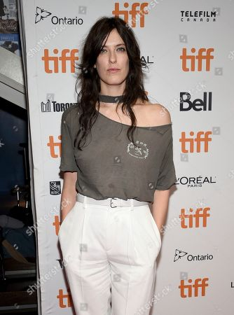"""Rebecca Thomas attends the premiere for """"Limetown"""" on day two of the Toronto International Film Festival at the TIFF Bell Lightbox, in Toronto"""