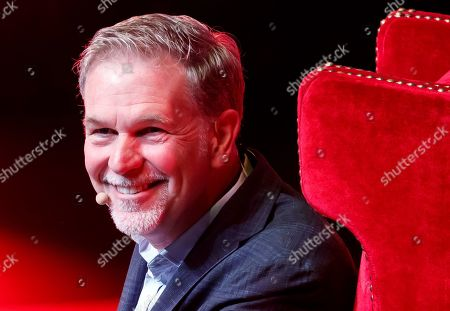Netflix CEO Reed Hastings participates in the Telmex-Telcel Foundation Forum, in Mexico City, Mexico, 06 September 2019.