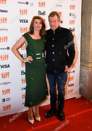 Stock Picture of Sharon Horgan and Jason Flemyng