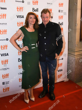 Stock Photo of Sharon Horgan and Jason Flemyng