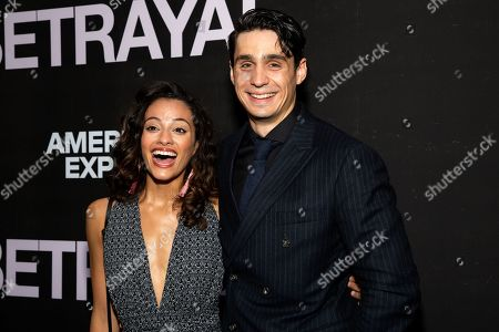 Editorial image of 'Betrayal' Broadway opening night, Arrivals, New York, USA - 05 Sep 2019
