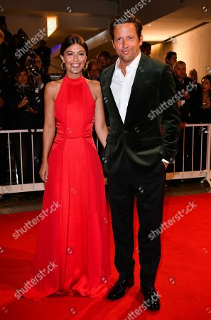 Stock Image of Alessandra Mastronardi and Ross McCall