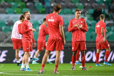 Editorial picture of Slovenia v Poland, UEFA Euro 2020 qualifier, Football, Ljubljana, Slovenia - 06 Sep 2019