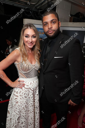 Blair Rich, President of Worldwide Marketing for Warner Bros. Pictures Group and Warner Bros. Home Entertainment, O'Shea Jackson Jr.